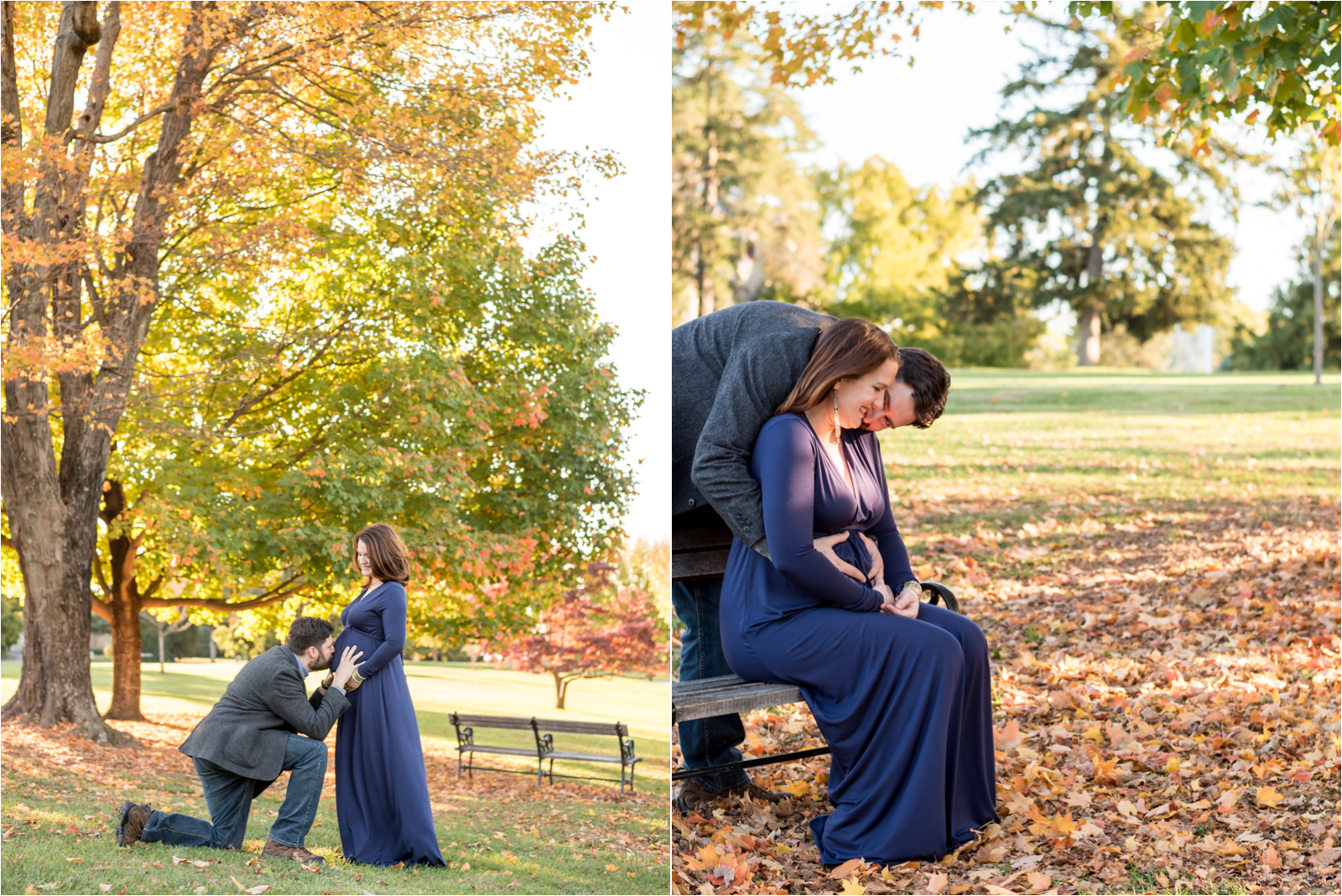 Bates-maternity-photography-session-focus-on-joy-photography-maymont-park-richmond-virginia-rva-husband-wife-pregnancy-man-jeans-grey-blazer-woman-blue-purple-flowing-maxi-dress-va