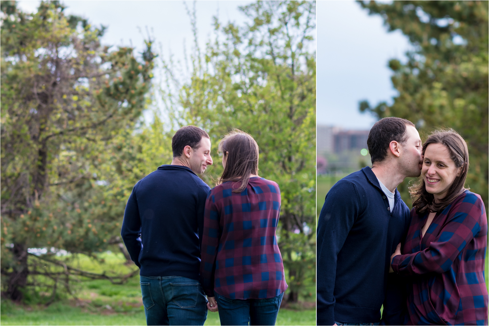 engagement-photography-session-focus-on-joy-photography-jessica-capozzola-gravelly-point-park-gravelly point-washington-dc-maroon-checkered-shirt-navy-sweater-husband-wife-fiance-engaged-couple