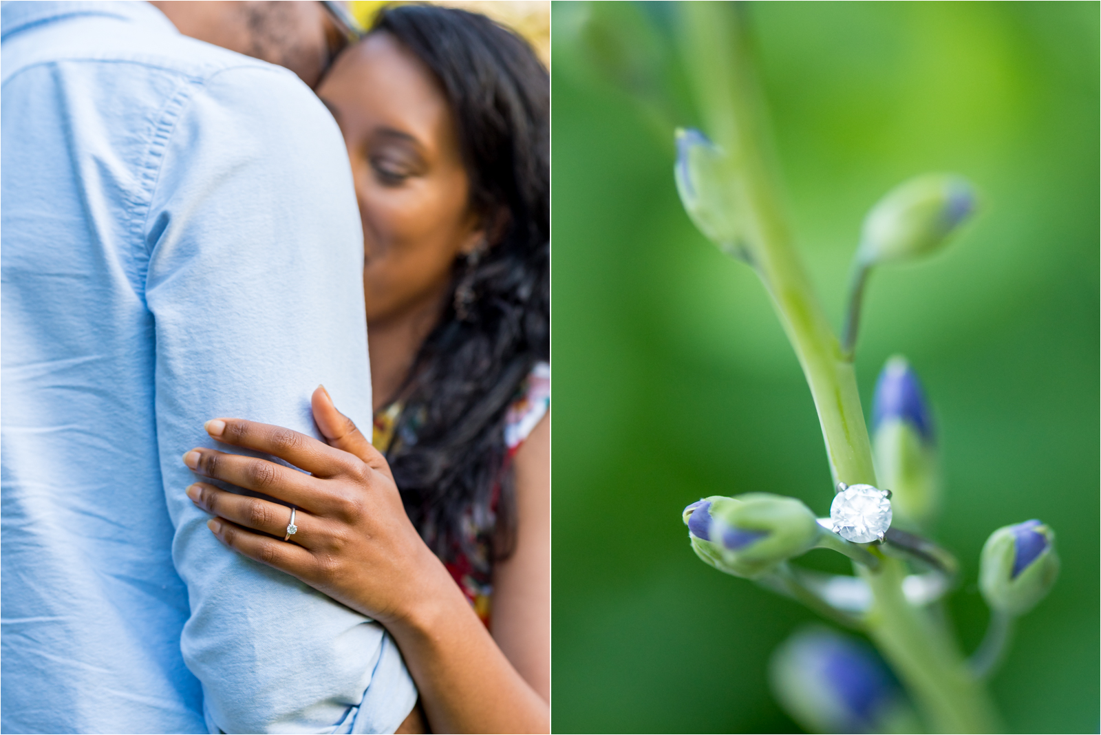 japanese-gardens-japanesegardens-ring-engagement-images-maymont-park-italian-japanese-gardens-richmond-virginia-rva-va-focus-on-joy-photography-african-american-couple-white-dress-colorful-flowers-blue-polo-shirt-richmond