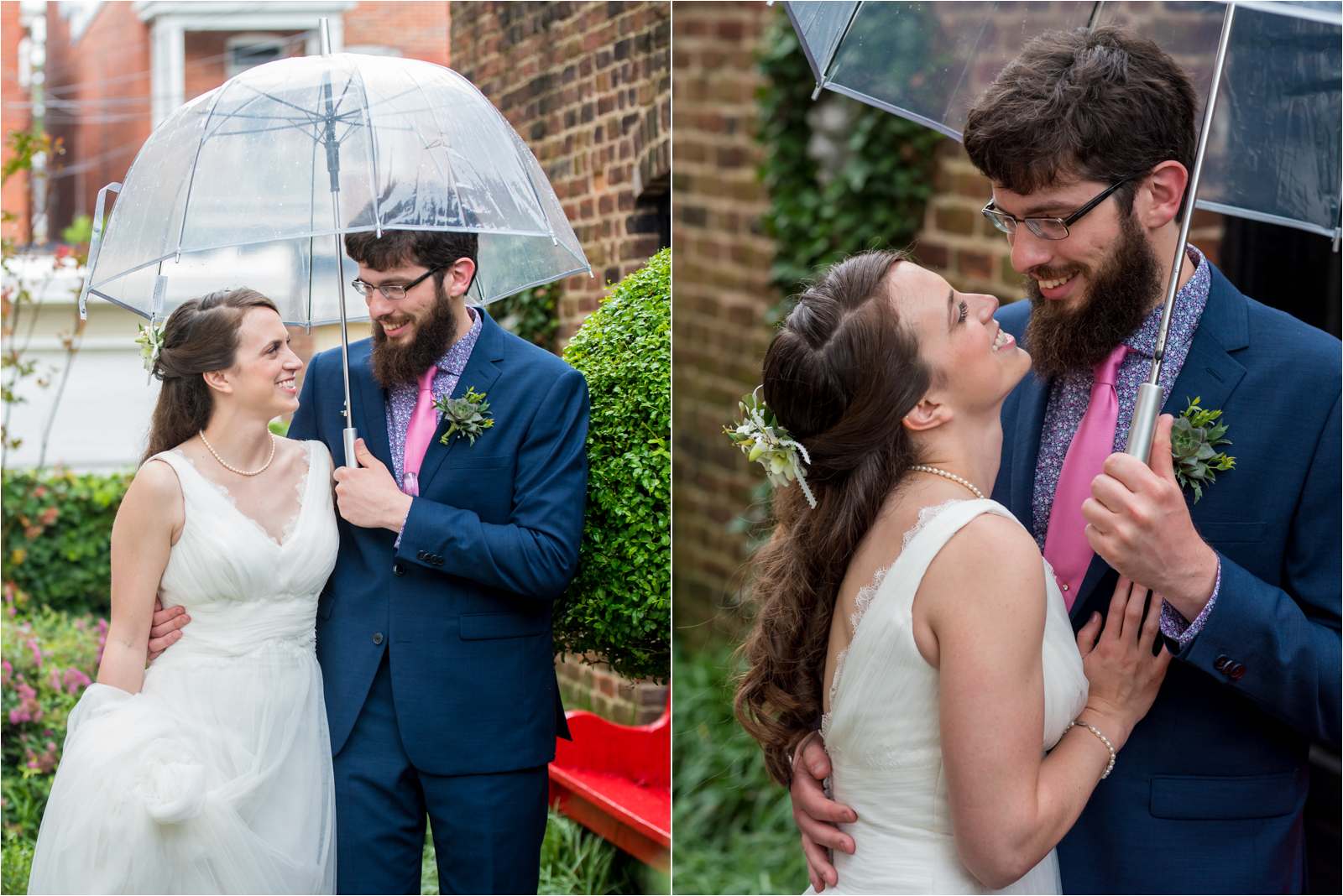 rainy-wedding-day-photography-sarah-barham-erik-davis-poe-museum-richmond-virginia-rva-virginia-museum-of-fine-arts-vmfa-rain-rainy-day-wedding-details-navy-suit-white-bridal-gown-focus-on-joy-photography