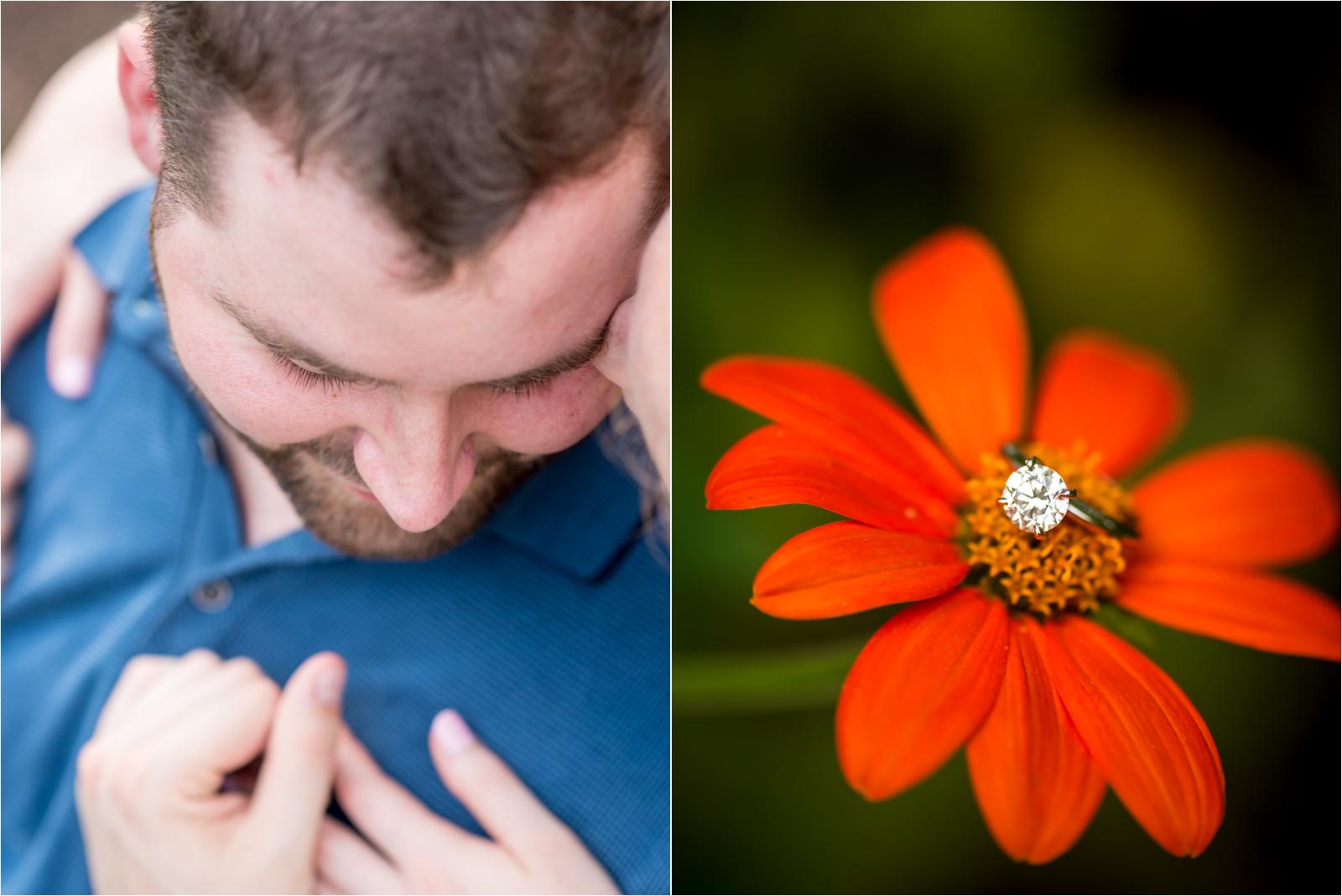 engagement-session-thanksgiving-proposal-story-man-woman-white-collared-shirt-blue-floral-dress-flower-garden-gardens-tuckahoe-plantation-richmond-virginia-jessica-capozzola-focus-on-joy-photography-richmond-virginia-rva