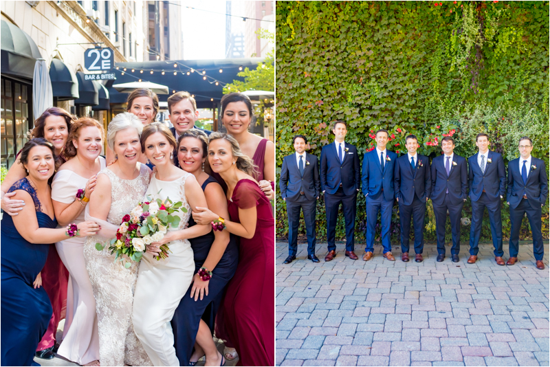 wedding-day-destination wedding photographer-destination-photographer-chicago-illinois-malone-bubman-galleria-marchetti-jessica-capozzola-focus-on-joy-photography-bridal-party-bridesmaids-groomsmen
