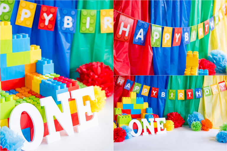 legos-lego-themed-cake-smash-photography-session-colorful-cakes-frosting-first-birthday-studio-portraits-richmond-virginia-rva-red-blue-green-yellow